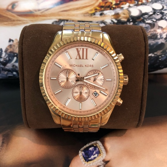 Michael Kors MK8319 Lexington Rose Gold Watch